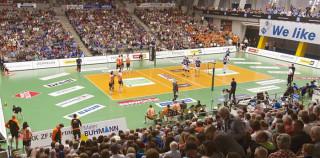 VFB Friedrichshafen Volleyball in der ZF Arena