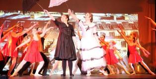 die jähliche Musical Revue der Musicalschule Überlingen