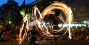 Kulturufer Friedrichshafen Feuershow