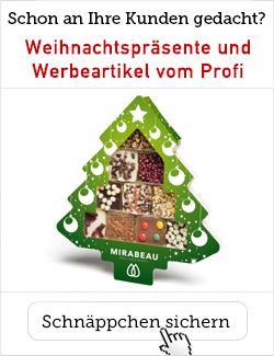Weihnachtspräsente für die Kunden