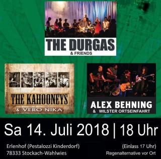14.Juli – Jubiläum: 5. Erlenhof Open Air