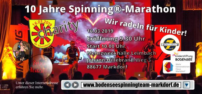 16.März – 10. Markdorfer Spinning®-Marathon