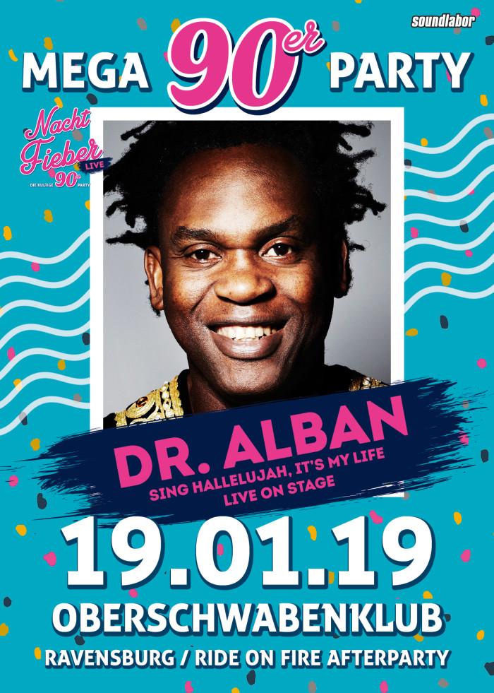 DR ALBAN LIVE // Nachtfieber //