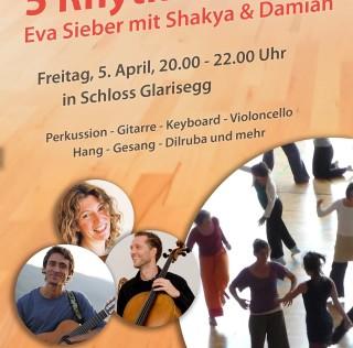 5.April – 5 Rhythmen mit Live-Musik