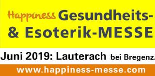 14. – 16.Juni – Happiness – Esoterik- und Gesundheitsmesse Lauterach