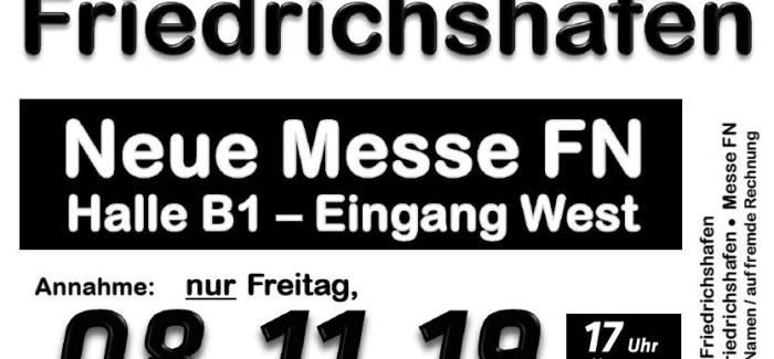 08.+09. November – Skibasar Friedrichshafen